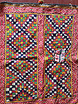 ANTIQUE TEXTILE EMBROIDERY FRAGMENT