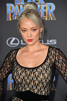 "Pom Klementieff at the world premiere for ""Black Panther"" at the Dolby Theatre, Hollywood, USA 29 Jan. 2018<br /> Picture: Paul Smith/Featureflash/SilverHub 0208 004 5359 sales@silverhubmedia.com"