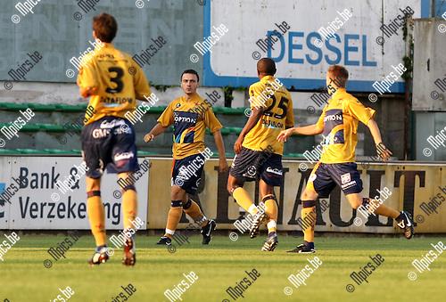 2009-08-22 / Voetbal / Cofidis Cup / Dessel Sport - OH Leuven / Ivica Jarakovic scoorde voor OHL..Foto: Maarten Straetemans (SMB)