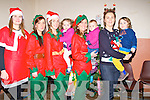 ELFS: Elefs and children of the Community Centre Ardfert awaiting for Santa to Arrive on Friday evening l-r: Marie Teresa Healy, Rachel Lyons, Tara and Ria O'Halloran, Liz McCarthy, Ella Hayes, Lorraine Nolan and Charlie Lyons.