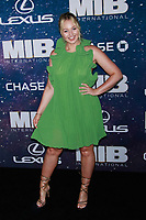 NEW YORK, NY - JUNE 11: Iskra Lawrence at World Premiere of Men in Black International at AMC Lincoln Square on June 11, 2019 in New York City. <br /> CAP/MPI99<br /> ©MPI99/Capital Pictures