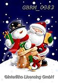 Roger, CHRISTMAS SANTA, SNOWMAN, WEIHNACHTSMÄNNER, SCHNEEMÄNNER, PAPÁ NOEL, MUÑECOS DE NIEVE, paintings+++++,GBRM0383,#x#
