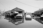 New Orleans, Louisiana.USA.September 28, 2005 ..Hurricane Katrina damage and recovery. The lower ninth ward.