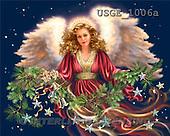 Dona Gelsinger, CHRISTMAS CHILDREN, angels, paintings, USGE1006a,#XK# Engel, angeles