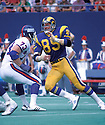 Los Angeles Rams Jack Youngblood (85) in action during a game against the New York Giants at The Meadowlands in East Rutherford, New Jersey. Jack Youngblood was inducted to the Pro Football Hall of Fame in 2001.