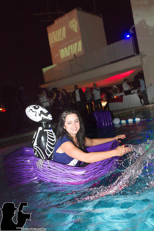 Binions haunted pool party