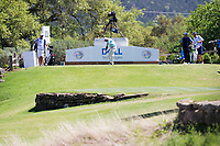 Bill Haas (USA) on the 11th during the 5th round at the WGC Dell Technologies Matchplay championship, Austin Country Club, Austin, Texas, USA. 25/03/2017.<br /> Picture: Golffile | Fran Caffrey<br /> <br /> <br /> All photo usage must carry mandatory copyright credit (&copy; Golffile | Fran Caffrey)