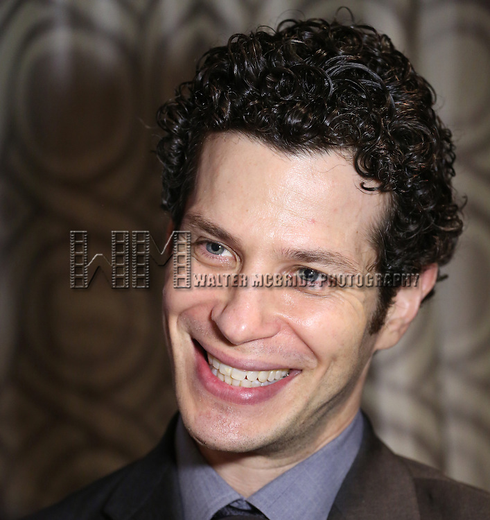 Thomas Kail visits the 2015 Drama Desk Awards Media Room at Marriott Marquis Times Square on May 31, 2015 in New York City.
