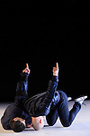 EMBRACE..Chorégraphie et interprétation : Edmond Russo, Shlomi Tuizer..Création musicale : Oren Bloedow..Poète : Christina Clark..Création lumière : Laurence Halloy..Mise en son : Jérôme Tuncer..Assistante à la chorégraphie : Ariane Guitton..Lieu : Micadanse..Ville : Paris..le 16/01/2012..© Laurent Paillier / photosdedanse.com..All rights reserved