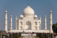 Agra, India.  Taj Mahal.