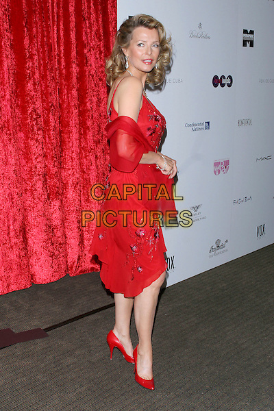 "CHERYL LADD.""What A Pair! 3""  A celebrity concert to benefit the Revlon/UCLA Breast Center held at UCLA's Royce Hall, Los Angeles, CA, USA, 8 April 2005..full length red dress wrap shawl.Ref: ADM.www.capitalpictures.com.sales@capitalpictures.com.©Jacqui Wong/AdMedia/Capital Pictures."