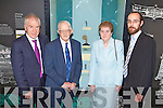 MARTARA BROOCH: Sheila and Pat Joe Edgeworth finders of the Martara Brooch with collection officer Griffin Murray and Jimmy Deenihan TD at the official unveiling at the Kerry County Museum, Tralee on Friday.