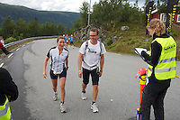 Race number 279 - Karoline Burdahl Teien - Norseman 2012 - Photo by Justin Mckie Justinmckie@hotmail.com