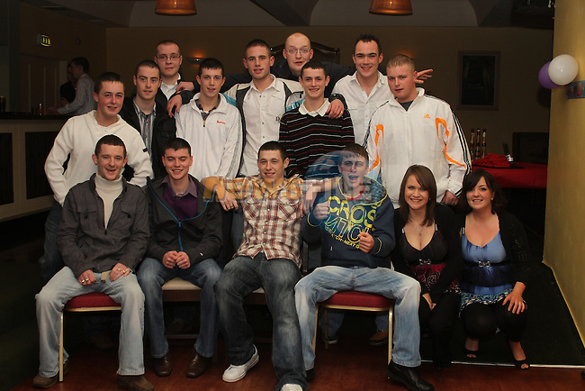 Declan Hill with friends at his 21st in The Star and Crescent...(Photo credit should read Jenny Matthews www.newsfile.ie)....This Picture has been sent you under the conditions enclosed by:.Newsfile Ltd..The Studio,.Millmount Abbey,.Drogheda,.Co Meath..Ireland..Tel: +353(0)41-9871240.Fax: +353(0)41-9871260.GSM: +353(0)86-2500958.email: pictures@newsfile.ie.www.newsfile.ie.