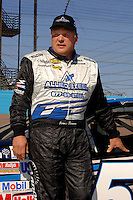 Nov 12, 2005; Phoenix, Ariz, USA;  Nascar Nextel Cup driver Jimmy Spencer during qualifying for the Checker Auto Parts 500 at Phoenix International Raceway. Mandatory Credit: Photo By Mark J. Rebilas