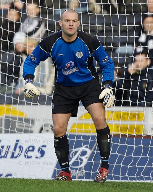 Tony Bullock, St Mirren.stock season 2006-2007.pic willie vass