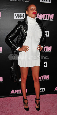 New York, NY: December 8:Stacy Ann Mackenzie attends the VH1 America's Next Top Model premiere party at Vandal on December 8, 2016 in New York City.@John Palmer / Media Punch
