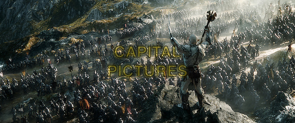 A scene from the fantasy adventure &quot;THE HOBBIT: THE BATTLE OF THE FIVE ARMIES,&quot; a production of New Line Cinema and Metro-Goldwyn-Mayer Pictures (MGM), released by Warner Bros. Pictures and MGM.<br /> *Filmstill - Editorial Use Only*<br /> CAP/NFS<br /> Image supplied by Capital Pictures