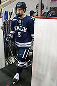 Henry Hart (Yale - 15) The Boston University Terriers defeated the visiting Yale University Bulldogs 5-2 on Tuesday, December 13, 2016, at the Agganis Arena in Boston, Massachusetts.