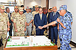 Egyptian President Abdel Fattah al-Sisi attends the ceremony of Egyptian Navy day, in Alexandria, Egypt, on October 19, 2017. Photo by Egyptian President Office