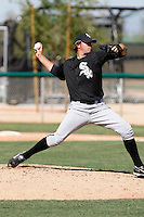 Michael Dubee  -  Chicago White Sox - 2009 spring training.Photo by:  Bill Mitchell/Four Seam Images