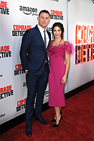 www.acepixs.com<br /> <br /> August 3 2017, LA<br /> <br /> Channing Tatum and Jenna Dewan Tatum arriving at the premiere of Amazon's 'Comrade Detective' at the ArcLight Hollywood on August 3, 2017 in Hollywood, California<br /> <br /> By Line: Peter West/ACE Pictures<br /> <br /> <br /> ACE Pictures Inc<br /> Tel: 6467670430<br /> Email: info@acepixs.com<br /> www.acepixs.com