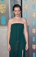 LONDON, UK - FEBRUARY 10: Claire Foy at the 72nd British Academy Film Awards held at Albert Hall on February 10, 2019 in London, United Kingdom. <br /> CAP/MPI/IS<br /> ©IS/MPI/Capital Pictures