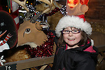 Sophie Kelly at the Arrival of Santa and the turning on of the Christmas Lights in Dunleer...(Photo credit should read Jenny Matthews www.newsfile.ie)....This Picture has been sent you under the conditions enclosed by:.Newsfile Ltd..The Studio,.Millmount Abbey,.Drogheda,.Co Meath..Ireland..Tel: +353(0)41-9871240.Fax: +353(0)41-9871260.GSM: +353(0)86-2500958.email: pictures@newsfile.ie.www.newsfile.ie.