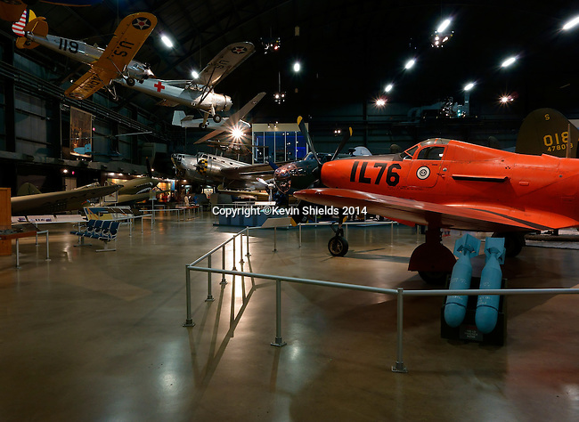 Aircraft display at the National Museum of the United States Air Force, Dayton, Ohio, USA