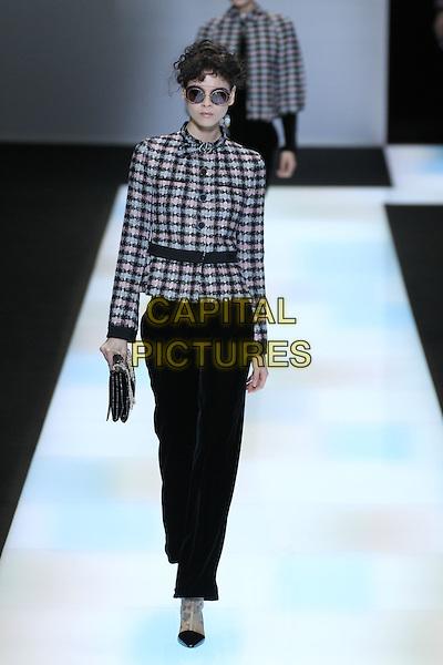 GIORGIO ARMANI<br /> Paris Fashion Week Fall Winter 2016<br /> Paris, France, February 29, 2016.<br /> CAP/GOL<br /> &copy;GOL/Capital Pictures