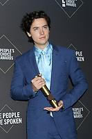 LOS ANGELES - NOV 10:  Cole Sprouse at the 2019 People's Choice Awards at Barker Hanger on November 10, 2019 in Santa Monica, CA