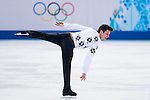 Zoltan Kelemen of Romania competes during Figure Skating Men's Short Program of the 2014 Sochi Olympic Winter Games at Iceberg Skating Palace on February 12, 2014 in Sochi, Russia. Photo by Victor Fraile / Power Sport Images