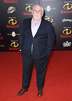 05 June 2018 - Hollywood, California - John Ratzenberger. Disney Pixar's &quot;Incredibles 2&quot; Los Angeles Premiere held at El Capitan Theatre. <br /> CAP/ADM/BT<br /> &copy;BT/ADM/Capital Pictures