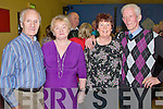 Abbeyfeale Tea Dance in aid of Fr. Tim Galvin of Abbeyfeale for his work in schools in South Sudan as part of Abbeyfeale for Africa, which took place on Sunday in Fr. Casey's GAA clubhouse in Abbeyfeale.  Pictured L-R were : Pat and Phillis Hartnett and Bridie O'Donnell of Abbeyfeale and Paddy McAuliffe of Brosna.