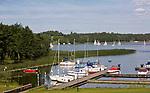 KAl 2009-08-04. Przystań jachtowa na półwyspie Kal.