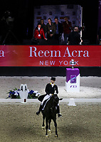 OMAHA, NEBRASKA - MAR 30: Isabell Werth rides Weihegold OLD during the FEI World Cup Dressage Final I at the CenturyLink Center on March 30, 2017 in Omaha, Nebraska. (Photo by Taylor Pence/Eclipse Sportswire/Getty Images)