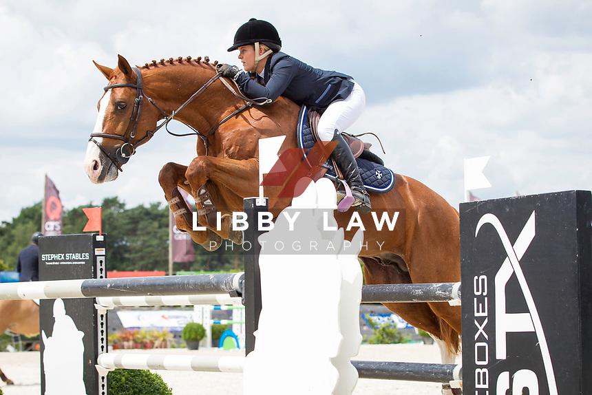 AUS-Jamie Winning (WIRRAGULLA NICKLAUS) CSI3* TABLE A AGAINST THE CLOCK (145cm) 2014 BEL-Bonheiden CSI1*/CSI3* (Friday 27 June) CREDIT: Libby Law COPYRIGHT: LIBBY LAW PHOTOGRAPHY - NZL