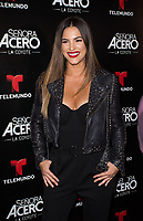 DORAL, FL - NOVEMBER 6: Gaby Espino on the red carpet for Telemundo's season premiereofSenora Acero,La Coyote in CineBistro at City Place Doral, Florida. November 6, 2017. Credit: mpi140 / MediaPunch /NortePhoto.com