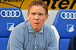 07.10.2018, wirsol Rhein-Neckar-Arena, Sinsheim, GER, 1 FBL, TSG 1899 Hoffenheim vs Eintracht Frankfurt, <br /> <br /> DFL REGULATIONS PROHIBIT ANY USE OF PHOTOGRAPHS AS IMAGE SEQUENCES AND/OR QUASI-VIDEO.<br /> <br /> im Bild: Julian Nagelsmann (Trainer TSG Hoffenheim)<br /> <br /> Foto &copy; nordphoto / Fabisch