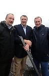 DINGLE REGATTA 19-8-07; Sean, Conor and Ciaran Haughey at the annual Dingle Regatta on Sunday.<br /> Picture by Don MacMonagle