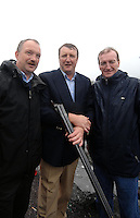 DINGLE REGATTA 19-8-07; Sean, Conor and Ciaran Haughey at the annual Dingle Regatta on Sunday.<br /> Picture by Don MacMonagle