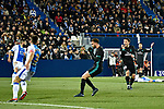 Leganes vs Real Madrid Isco Alarcon shoot goal and the goal fails during Copa del Rey  match. A quarter of final go. 20180118.