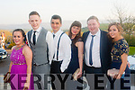 Socialising<br /> --------------<br /> Having great fun at the Tralee IT Sports and Societies annual Ball at the Ballyroe Hts Hotel last Thursday night were L-R Kate Sheehan,Paul Carr,Patrick Renolds,Rachael O'Shea,James Murphy and Tammy Nash