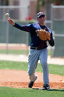 March 18, 2010:  First Baseman Paul-Michael Klingsberg (67) of the Minnesota Twins organization during Spring Training at the Ft. Myers Training Complex in Ft. Myers, FL.  Photo By Mike Janes/Four Seam Images