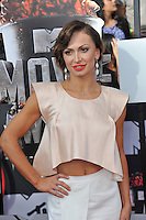 Karina Smirnoff at the 2014 MTV Movie Awards at the Nokia Theatre LA Live.<br /> April 13, 2014  Los Angeles, CA<br /> Picture: Paul Smith / Featureflash
