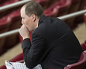 Richard Reichenbach (Maine - Assistant Coach) - The Boston College Eagles defeated the visiting University of Maine Black Bears 5 to 1 on Sunday, October 6, 2013, in their Hockey East season opener at Kelley Rink in Conte Forum in Chestnut Hill, Massachusetts.