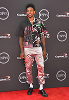 Nick Young at the 2018 ESPY Awards at the Microsoft Theatre LA Live, Los Angeles, USA 18 July 2018<br /> Picture: Paul Smith/Featureflash/SilverHub 0208 004 5359 sales@silverhubmedia.com