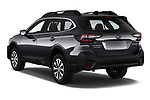 Car pictures of rear three quarter view of 2020 Subaru Outback Premium 5 Door Wagon Angular Rear