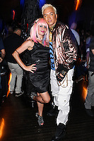 "LOS ANGELES, CA - JUNE 14: Sabrina Parisi and Kuba Ka attend Polish popstar Kuba Ka performance for his single ""Stop Feenin'"" at Hyde Nightclub on June 14, 2013 in Los Angeles, California. (Photo by Celebrity Monitor)"