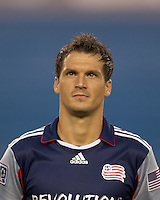 New England Revolution midfielder Marko Perovic (29). The New England Revolution defeated Pumas UNAM in SuperLiga group play, 1-0, at Gillette Stadium on July 14, 2010.